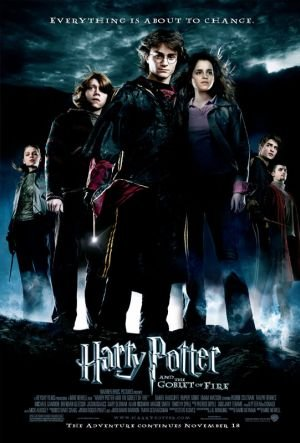 Harry Potter and the Goblet of Fire 2005 Dual Audio Hindi 720p BluRay 1GB