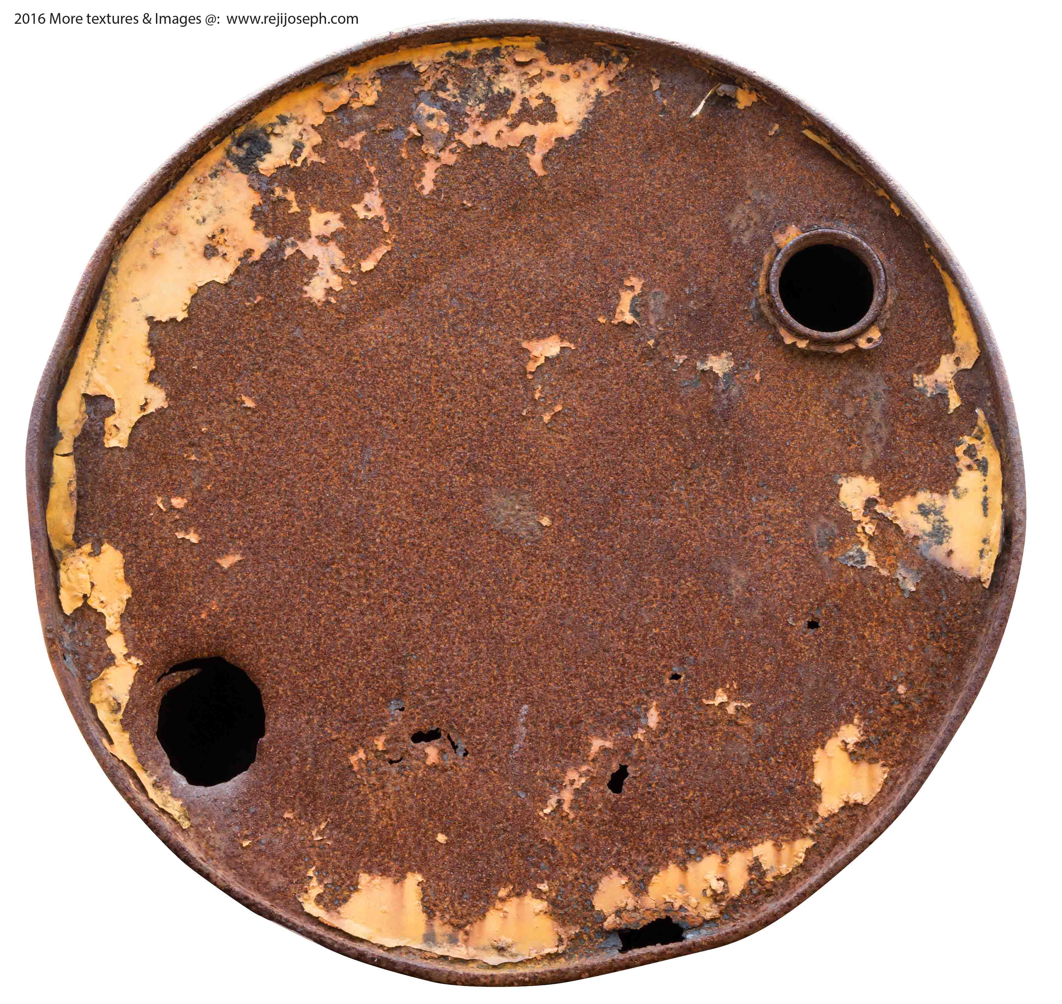 Rusty metal Oil can texture 00018