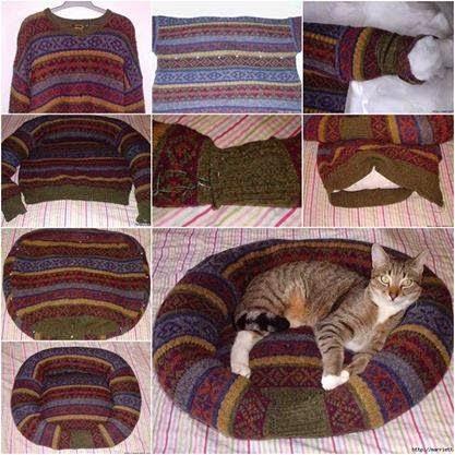 DIY Tempat Tidur Kucing