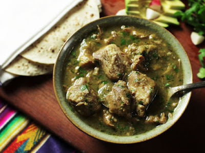 A Spoonful of Sofrito: Pressure Cooker Chile Verde: 15 Minutes of Work, Flavor for Days
