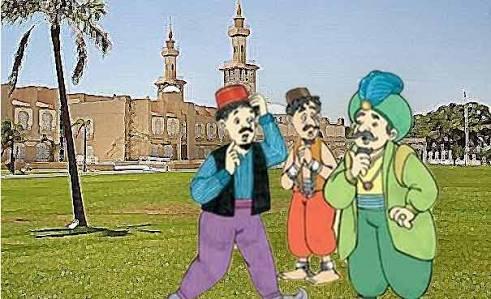 Abu Nawas: Curang dibalas Curang