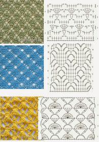 Todo Patrones Crochet Gratis Paso A Paso Esquema Y Graficos 150 Puntos Fantasía En Crochet Con Gráficos Patrones Gratis