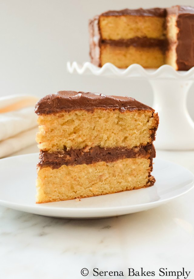 Best Yellow Birthday Cake Recipe
