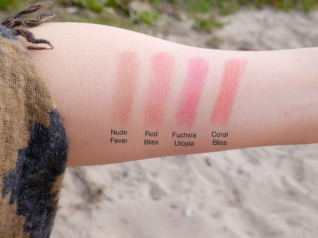 dior tie dye lip addict nude fever coral trip red bliss fuchsia utopia swatch