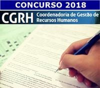 Concurso CGRH SEE-SP 2018