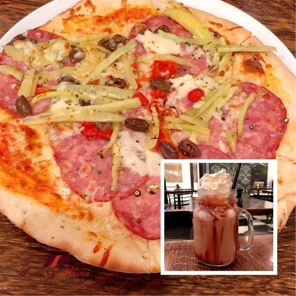 crown melbourne cervo italian pizza review