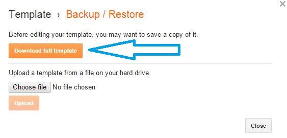 How to Backup Your Blogger Template - mytrickstime.com images Demo 3