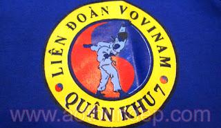 Áo Thun Thể Thao Vovinam quân khu 7