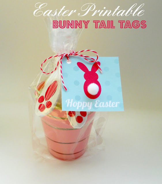 printable Easter tags for favors and treats