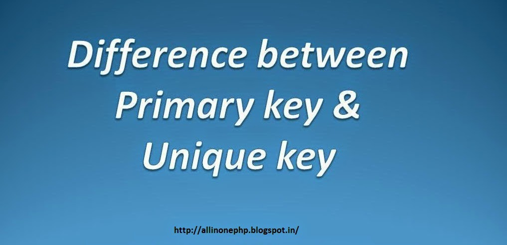 primary key A primary key is a column in a table whose values uniquely identify the rows in the table the primary key is chosen from this list of candidates based on its perceived value to the business as an identifier.