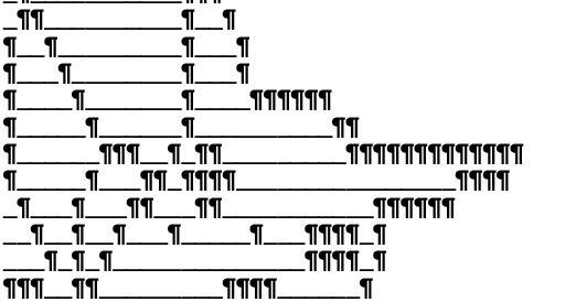 Sms ascii bilder ASCII Art