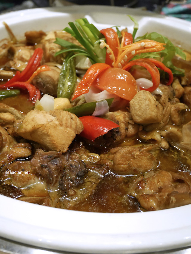 Chicken Cooked Tauchu Style