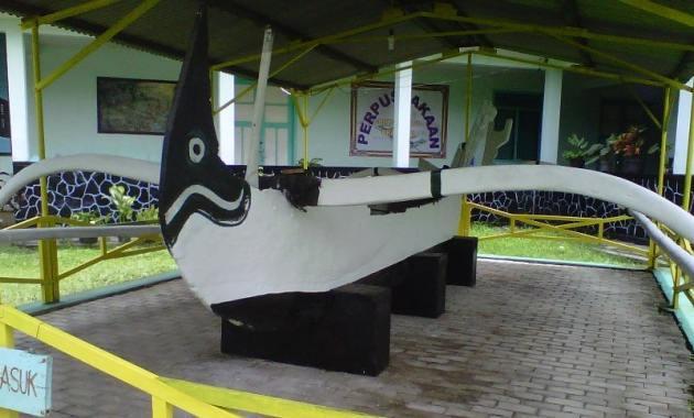 Perahu Peninggalan Museum Brawijaya