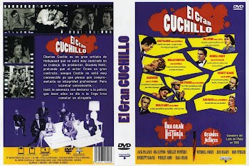 Carátula dvd: La podadora (El gran cuchillo) (1955) (The Big Knife)