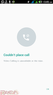 Couldn't Place Call