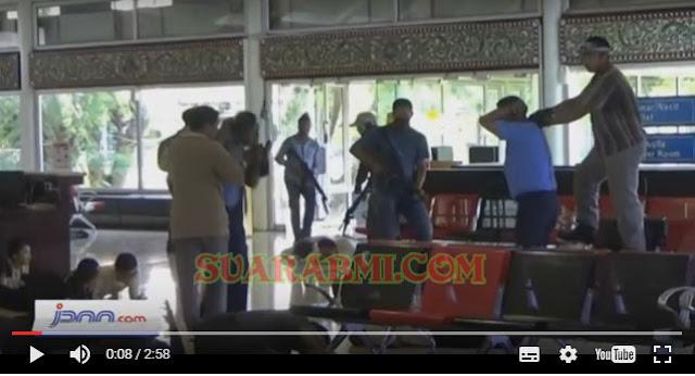 Bandara Internasional Soekarno-Hatta Diserang Kelompok Bersenjata