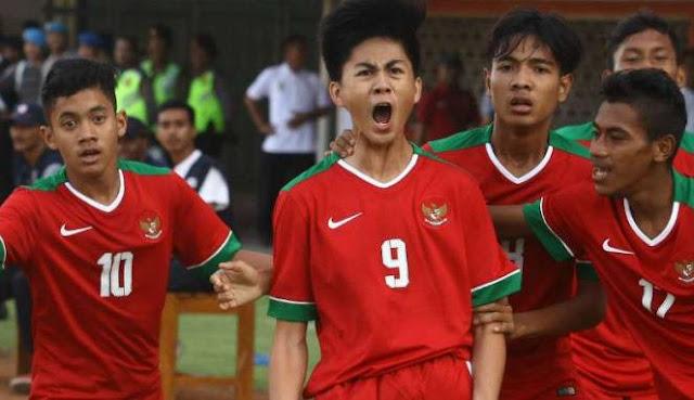 Timnas U-16, Garuda Muda yang Menang Telak Melawan Singapura