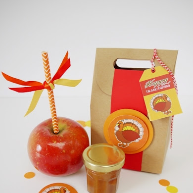 Salted Caramel Apple Favors & Recipe