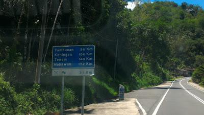 Road to Tambunan : Angsa berjaya di beli