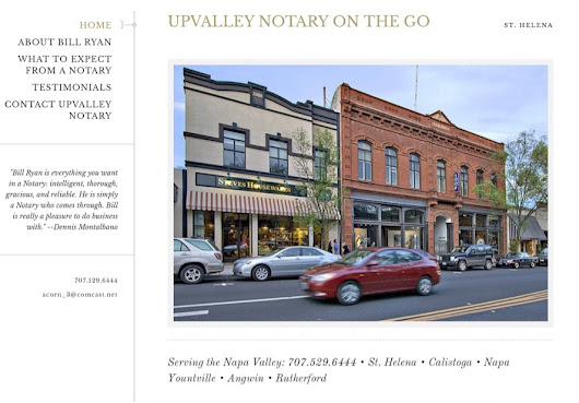 Case Study: A New Website for UpValley Notary