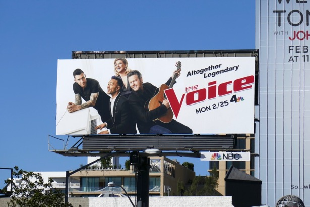 Voice season 16 billboard