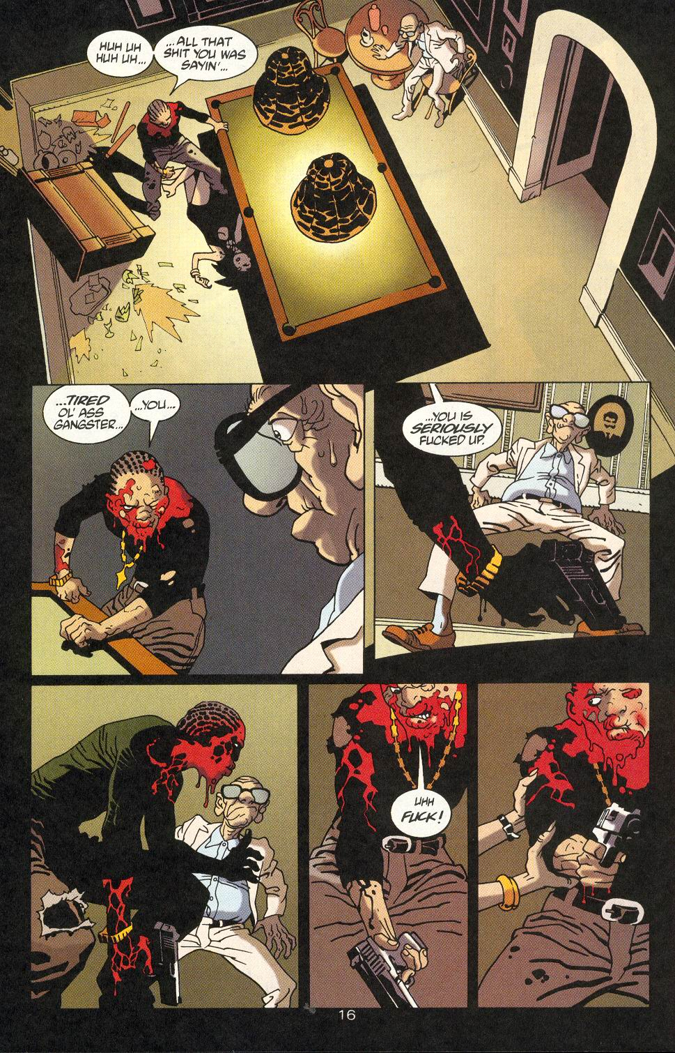 Read online 100 Bullets comic -  Issue #18 - 18