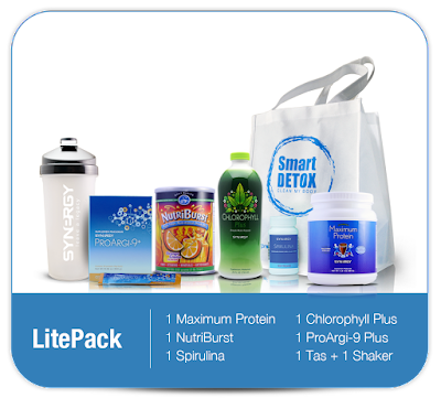 Harga Paket Smart Detox Lite Pack