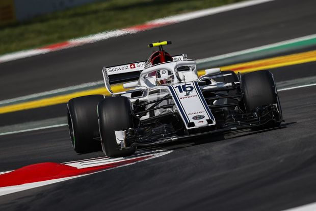 Η Alfa Romeo Sauber F1 Team βαθμολογήθηκε για 2η συνεχή φορά με τον Charles Leclerc να τερματίζει 10ος