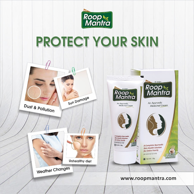 Protect skin by Roop Mantra Face Cream