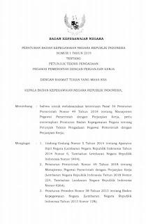 Juknis Pengadaan Pegawai Pemerintah dengan Perjanjian Kerja