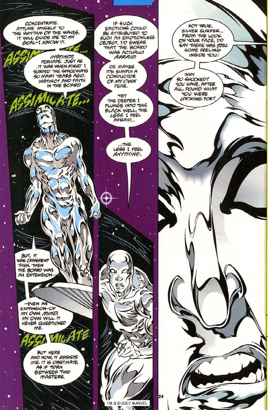 Silver Surfer (1987) Issue #113 #121 - English 26