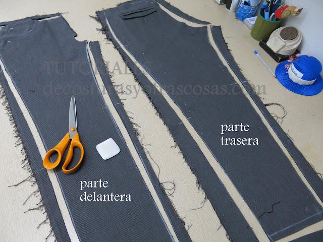 tutorial de costura pantalón chica