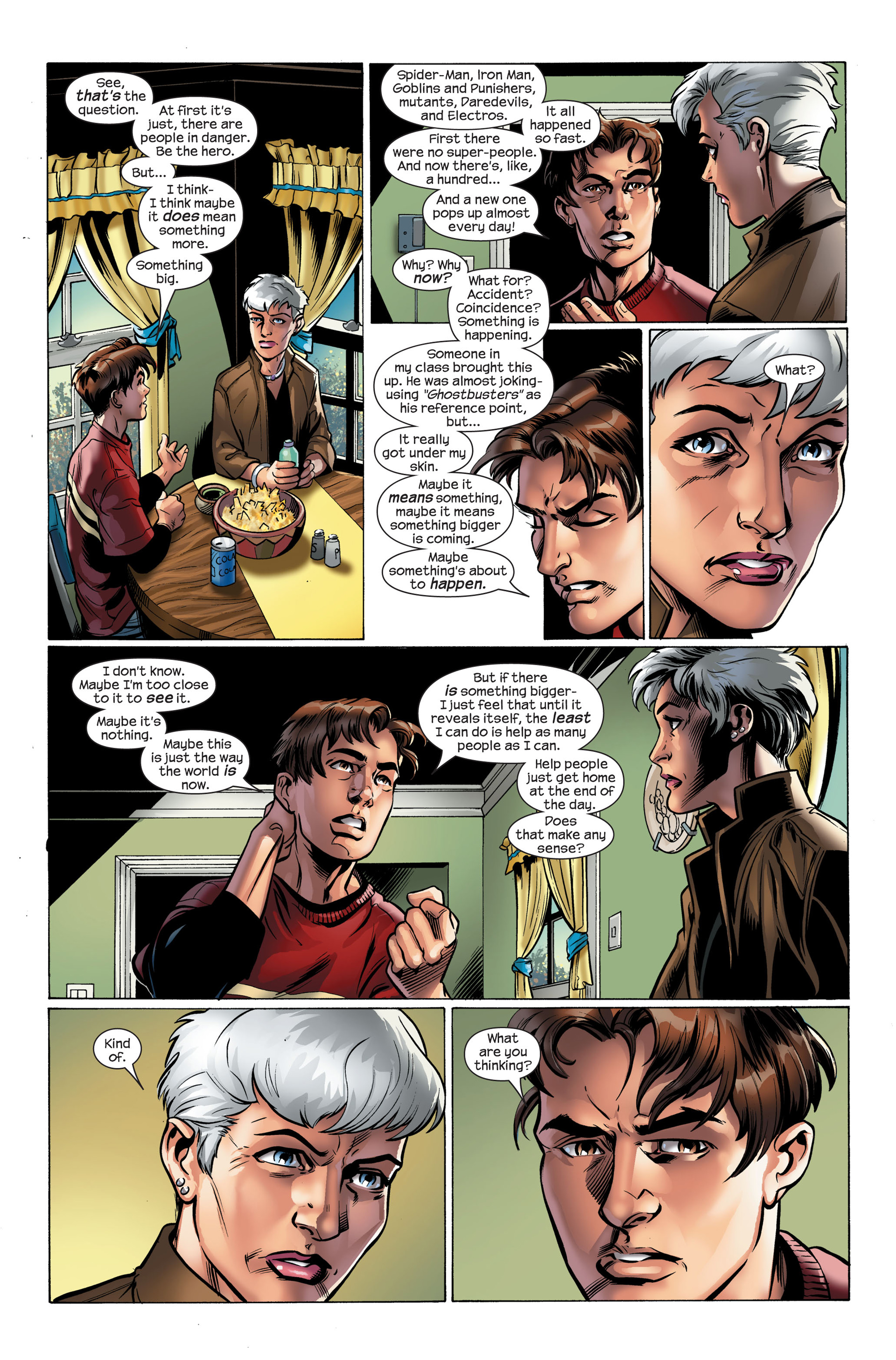 Read online Ultimate Spider-Man (2000) comic -  Issue #111 - 16