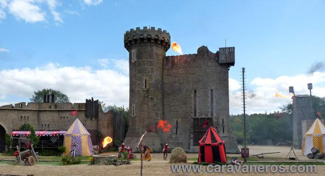 Fotos de Castillos y caballeros en el Puy du Fou | caravaneros.com
