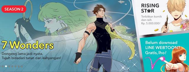 Cara Screenshot Webtoon