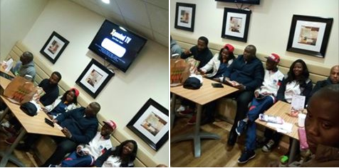 Billionaire Ifeanyi Ubah Spotted Hanging Out With Nigerians In London [Photos]