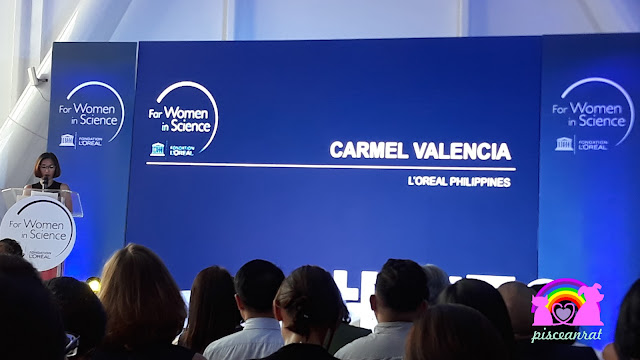 Carmel Valencia, Corporate Communications Manager of L'Oréal Philippines.