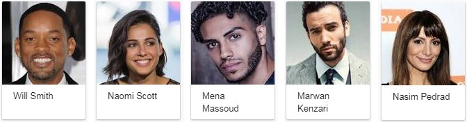Aladdin Movie Star Cast
