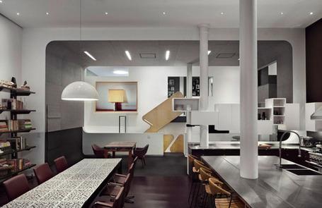 comment am nager un loft une immense pi ce un grand salon blog d coration maison. Black Bedroom Furniture Sets. Home Design Ideas