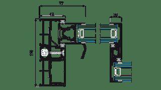 Sistema Cor-Vision Corredera con RPT