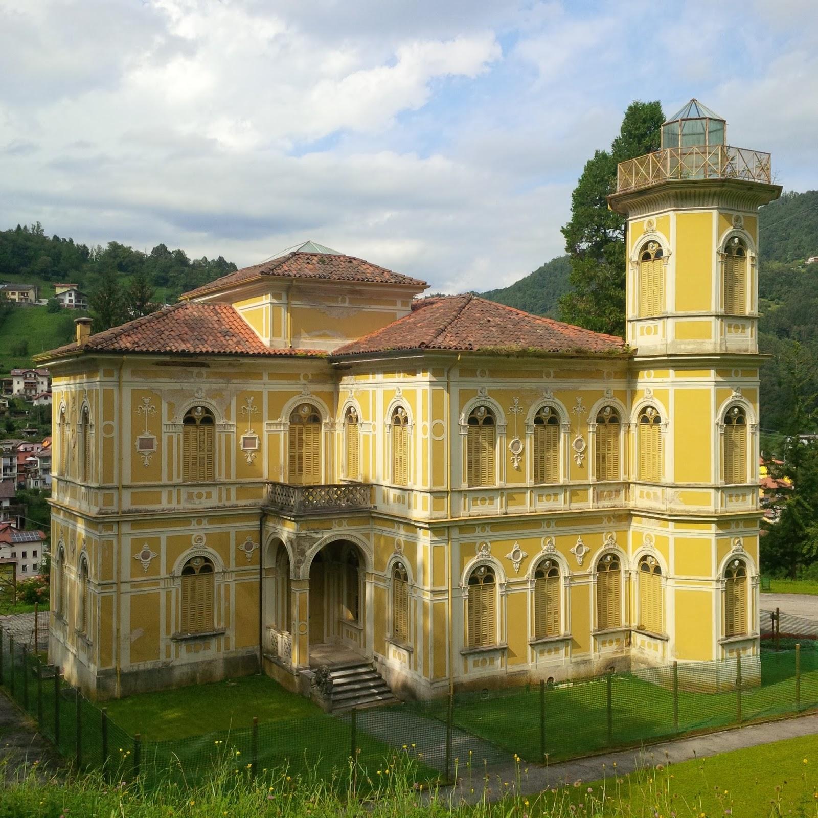 A villa in Recoaro Terme, Veneto, Italy - www.rossiwrites.com
