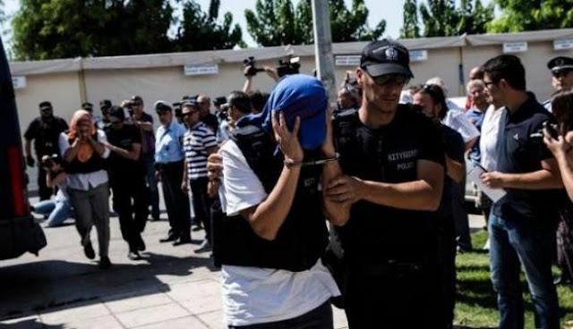 Δεν εκδίδονται οι Τούρκοι αξιωματικοί