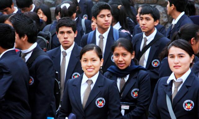 Lista de ingresantes a la Red de Colegios de Alto Rendimiento
