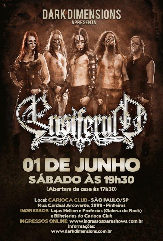 Ensiferum em São Paulo
