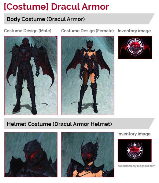 New! [Costume] Dracul Armor
