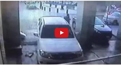 عاجل| بالفيديو..لحظة التفجير إلإنتحاري نفسه  بالقرب من الحرم النبوي