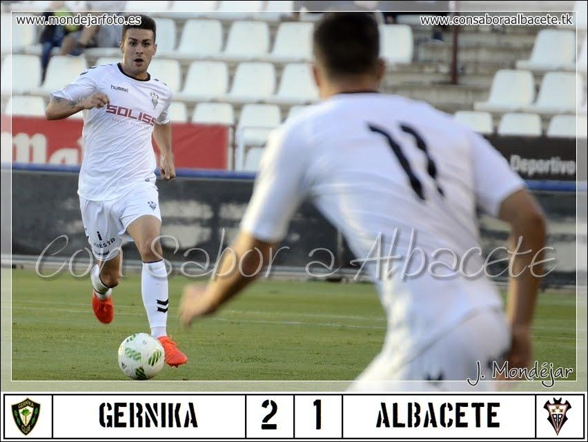 A LA 8ª PERDIÓ EL ALBA. GERNIKA 2 - ALBACETE 1