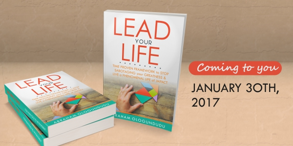 Abraham Ologundudu's New book, Lead Your Life Ebook giveaway
