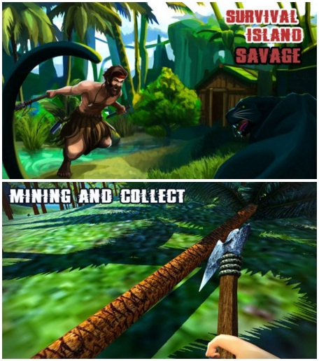 Survival Island Savage Offline Apk