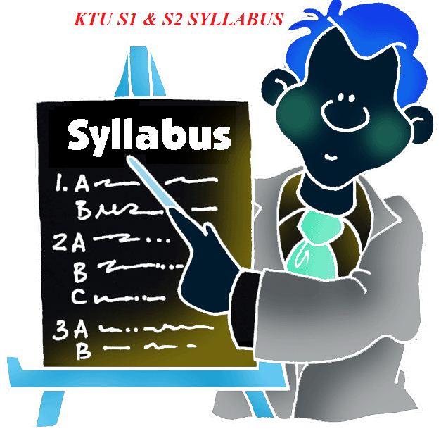 KTU SYLLABUS